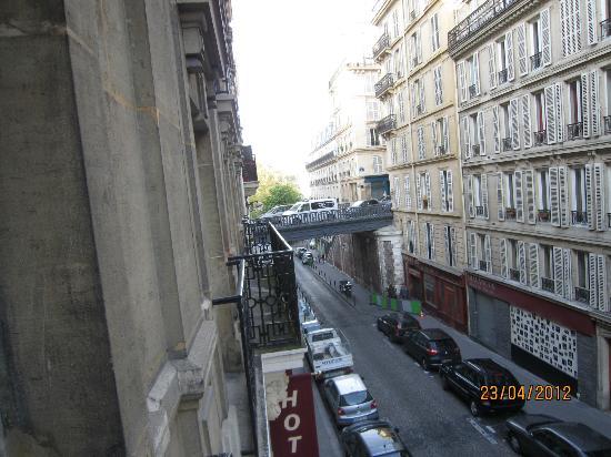 Relais du Pre: Panorama dalla finestra terrazza