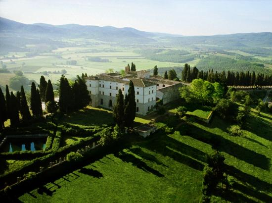 Castello di Casole Private Estate & Spa: The Castello