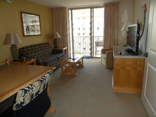 Living Area In 2 Bedroom Suite Picture Of Embassy Suites