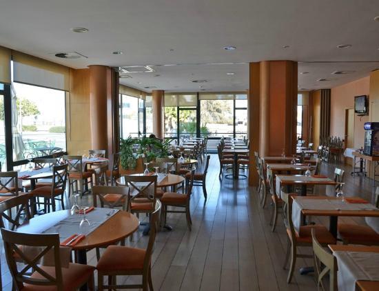 Posadas de España Cartagena: Dining room