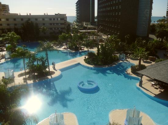 Hotel Sol Principe: view from apartment 411