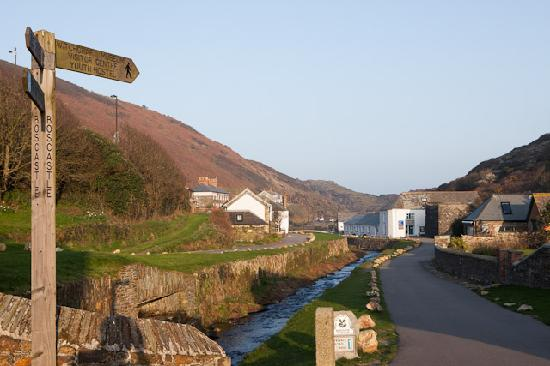 The Long Bar & Restaurant : Boscastle view