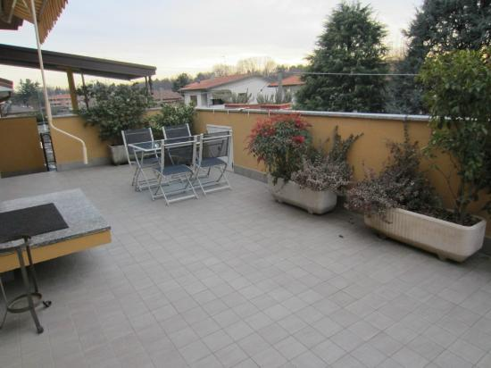 Il Terrazzo: Patio for apartment
