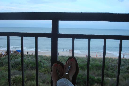 The Lodge at Hammock Beach: View of the Atlantic Ocean