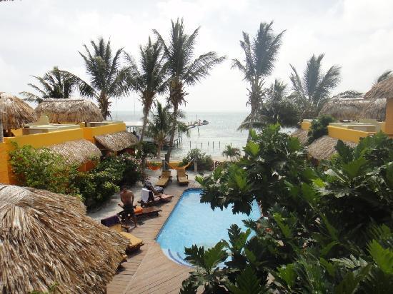 Seaside Cabanas: nossa vista