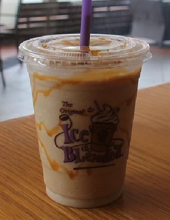 Coffee Bean & Tea Leaf: Caramel Ice Blender :D