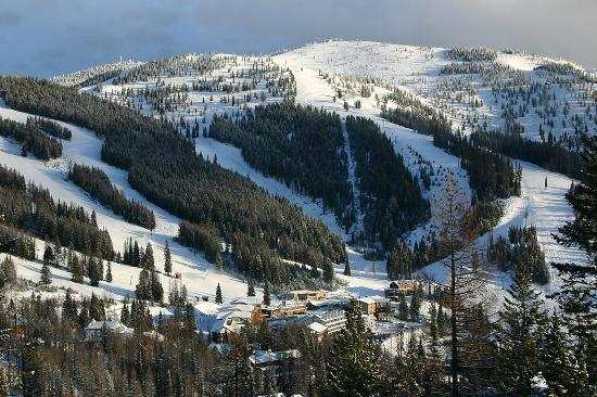 Edelweiss: Whitefish Ski Resort, right out the door from your room!