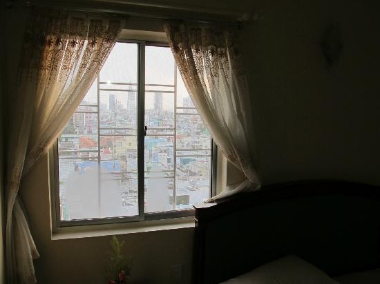 Universe Central Hotel : View from my single bed room (7th floor)
