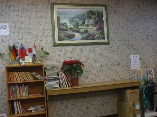 Good Ground Hotel Tainan : Reception area