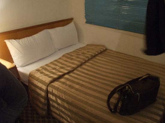 Good Ground Hotel Tainan: Bed for 2
