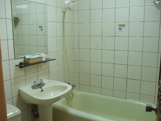 Good Ground Hotel Tainan : Toilet