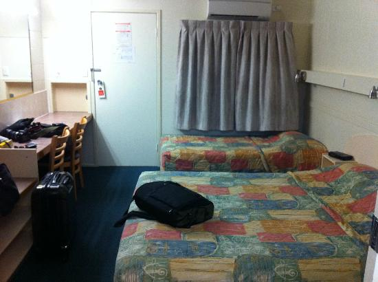 Best Western Bundaberg City Motor Inn : Twin beds