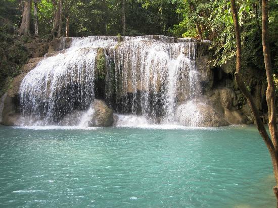 ศรีสวัสดิ์, ไทย: Lower Falls, Erawan NP
