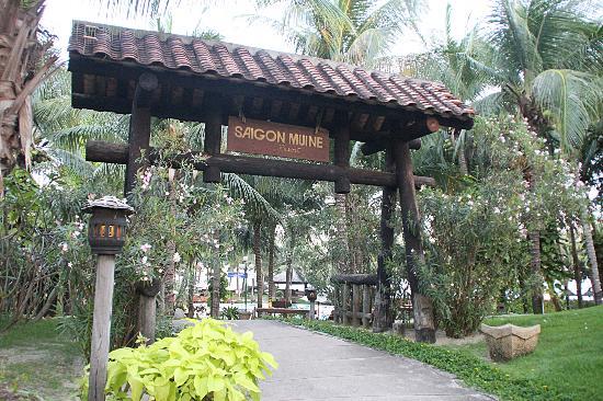 Saigon Mui Ne Resort: Hotelanlage