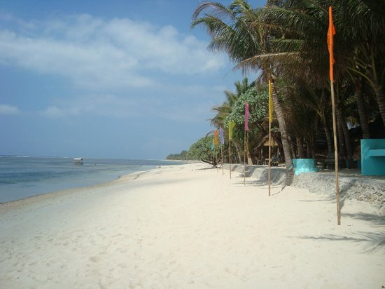 Bolinao, Philippinen: Nice views up and  . . .