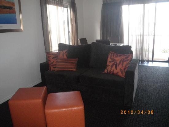 Port Augusta: Comfort Inn Augusta Westside-lounge room: