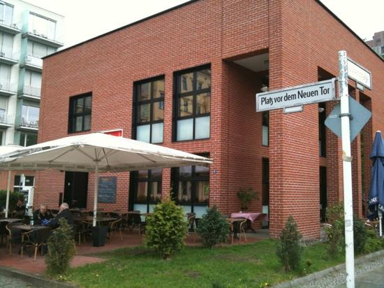 Terasse Bild Von Porta Nova Berlin Tripadvisor