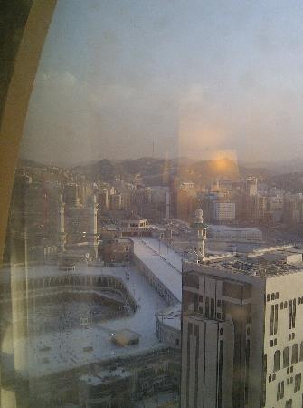 Royal Dar Al Eiman: view from room 22 floor