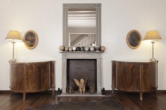 Oltre Il Giardino: Living room Alma Mahler