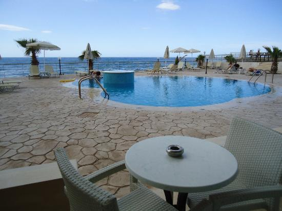 Karfas, Greece: The suite view...