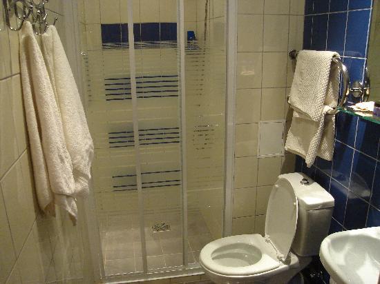 Hotel Naktsmajas: The bathroom
