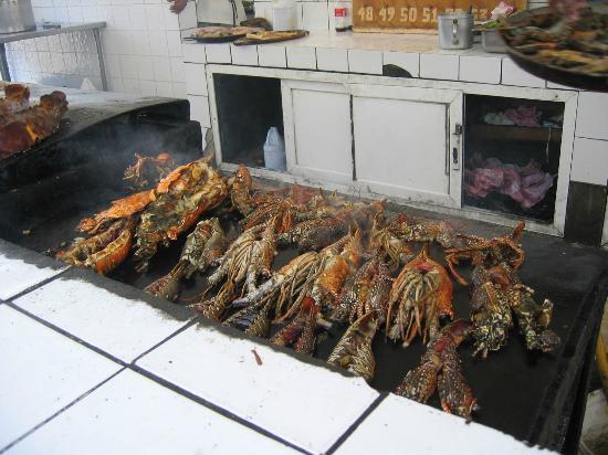 Captain Cook Restaurant : le grill