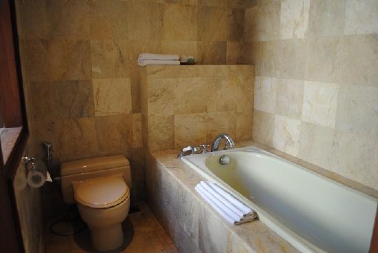 Villa Diana Bali: big bath tub