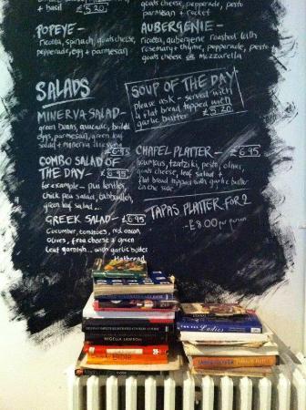 Chapel Arts Cafe: Current Salad Menu