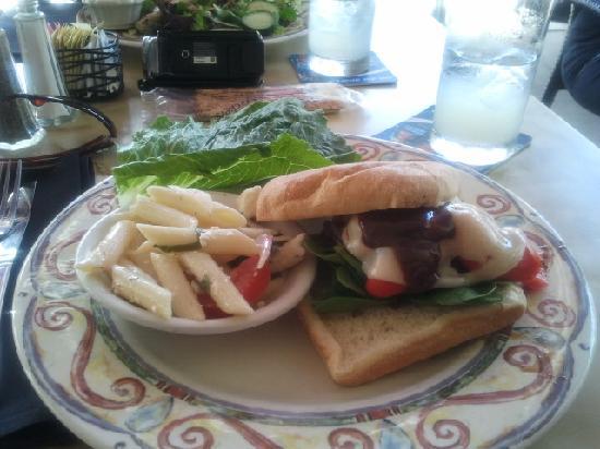Cafe Venice: My meal