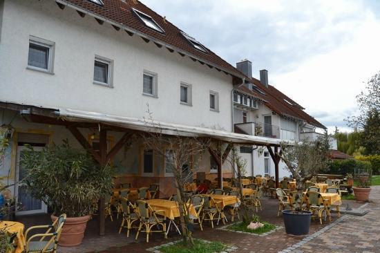 Hotel Gasthof Altes Rathaus: Terraza exterior