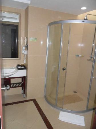 Country Garden Phoenix Hotel Huangshan: modern bathroom