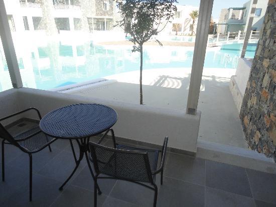 Ostria Resort & Spa: vue de la chambre