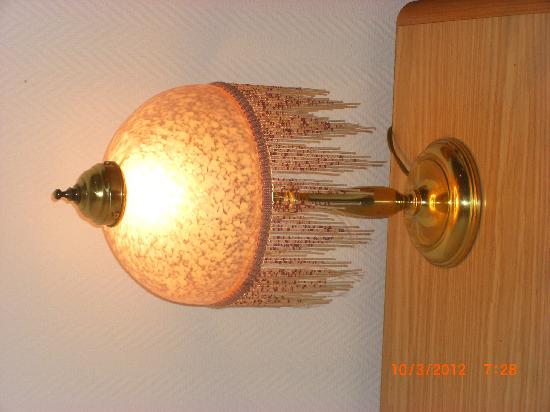 Hotel Gotland: Lampe