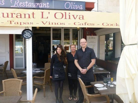 Restaurante Olivia Cala Bona: Staff.