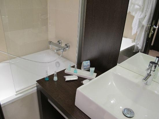 Holiday Inn Zilina : bathroom include shampoo...