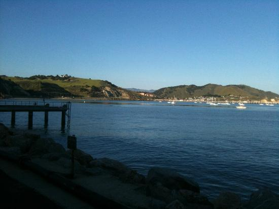 Avila Village Inn: Avila Beach from the pier