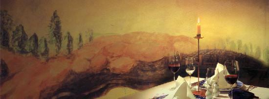 Ristorante II Sorriso: gedeckter Tisch im Sorriso