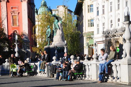 Lubiana, Slovenia: Copyright: Tourism Ljubljana (photo by: Dunja Wedam)