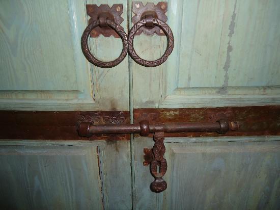 Riad Abracadabra : Detalle de la puerta de la habitacion