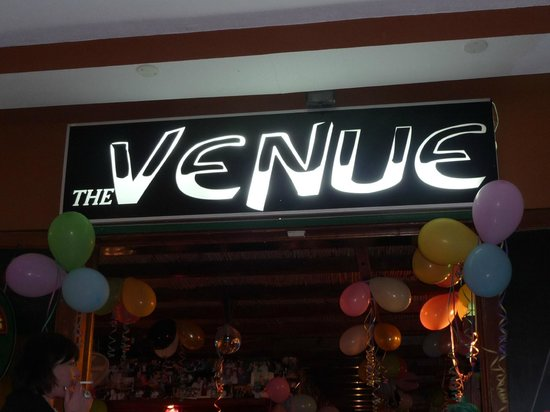The Venue Bar: Look for the sign
