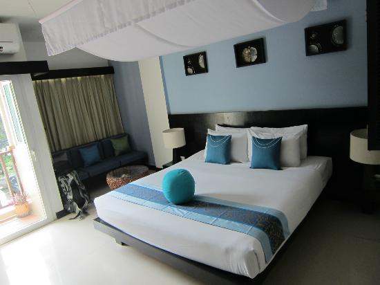 Benyada Lodge: Double room with view, balcony second floor