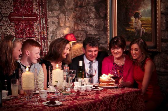White Gables Restaurant : Celebrate at White Gables Galway