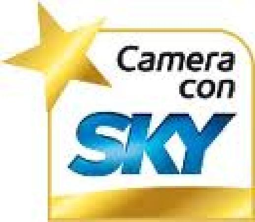 Hotel Irene: Sky in camera - Tv sat with many languages