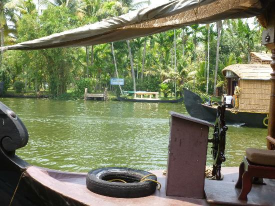 Palmgrove Lake Resort: Look at Palm Grove from the channel