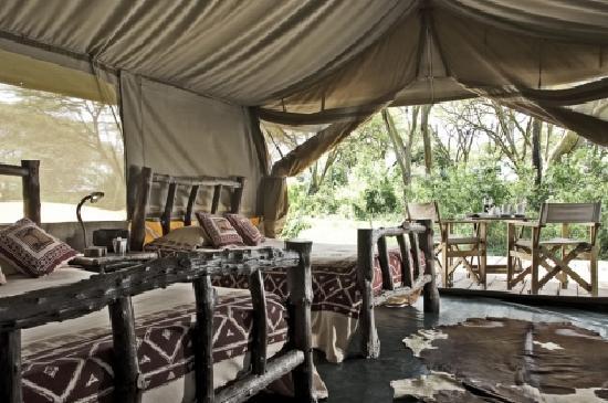 Porini Mara Camp: Guest Tent