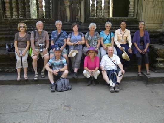 Angkor Tour Services: Angkor Tour with my group