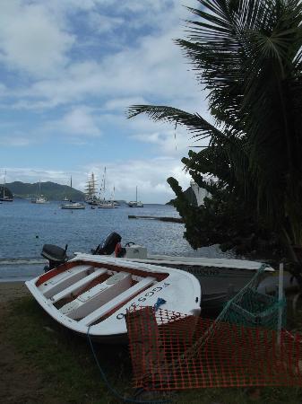 Hotel Kanaoa Les Saintes: La Baie