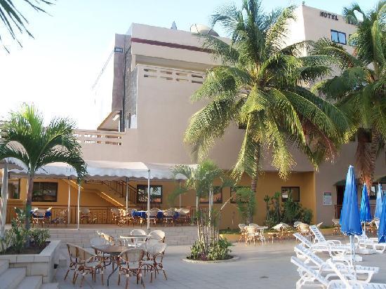 Tema, Ghana: hotel view