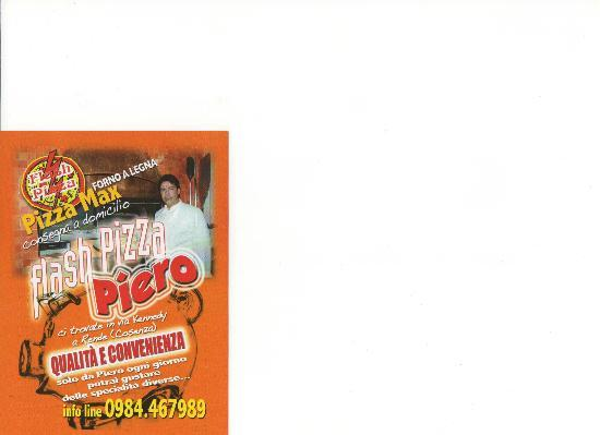 Piero Pizza Flash: Santo Piero ....