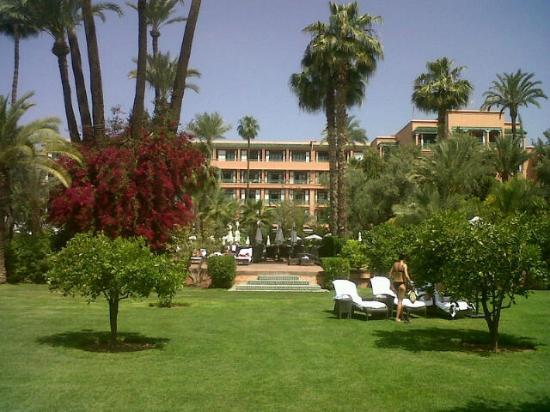 La Mamounia Marrakech : Hotel View from the Gardens
